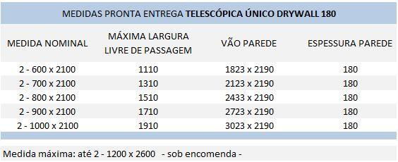 tabela-TELESCOPICO-unico-DRYWALL